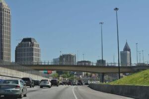 Vi skulle blot køre igennem Atlanta :-)