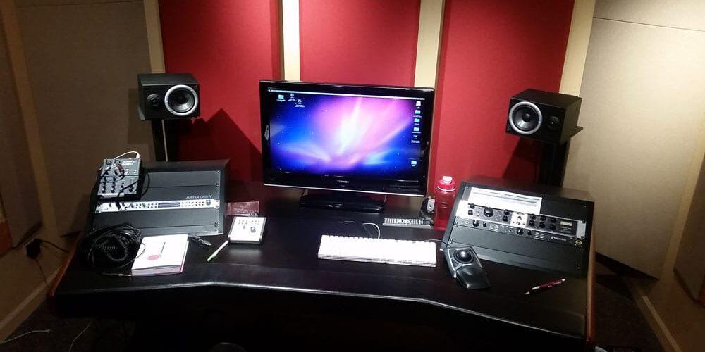 Teknik rummet i Studie B er ikke så stort, men eneste funktion er også vokal 🙂