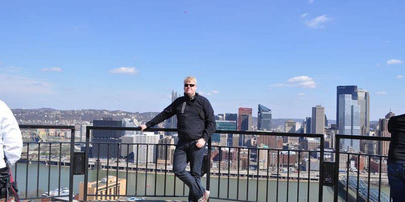 Udsigten fra toppen er fantastisk – Nu har vi vænnet os til skyskraberne fra New York, men stadig imponerende!